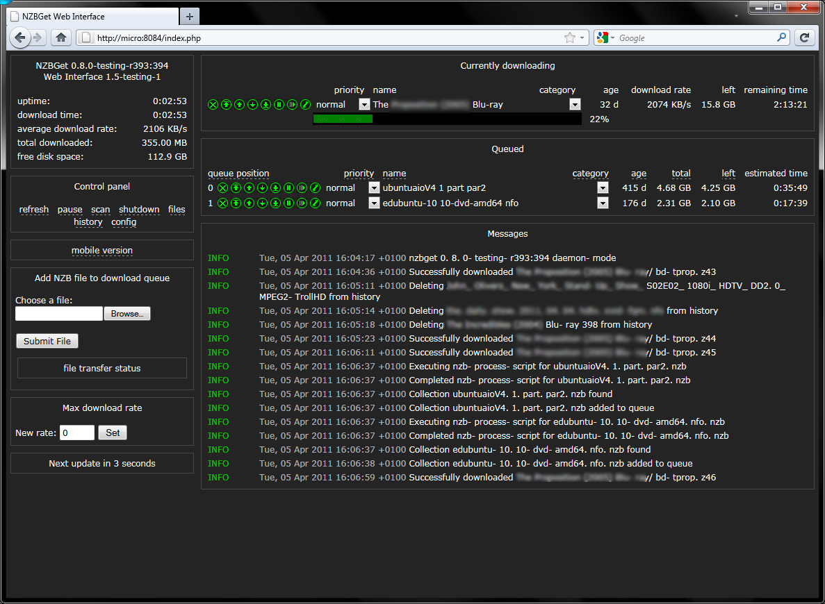 nzbget 0 8 with par2lib & openssl - User Customizations - Unraid