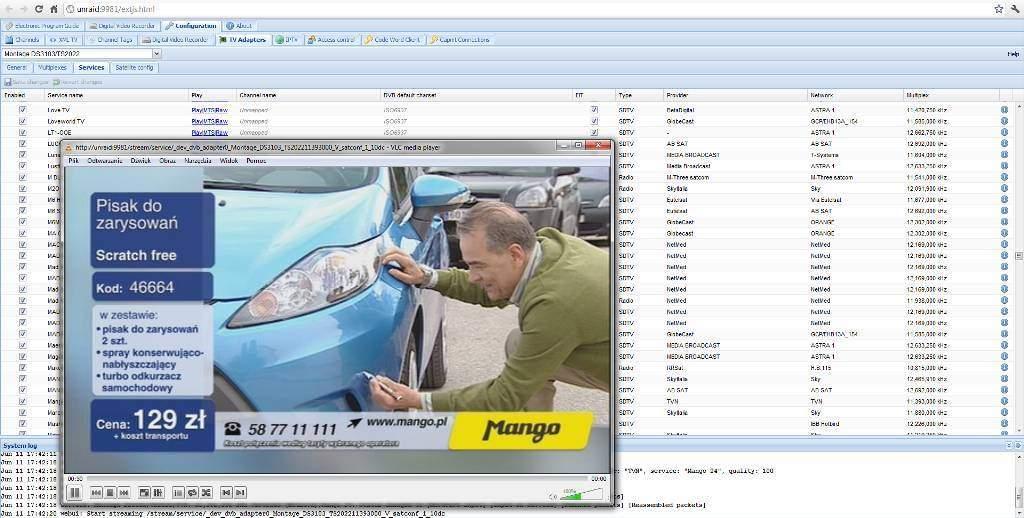 Tvheadend plugin for unRAID V5 0 - Plugins (V5 and Older