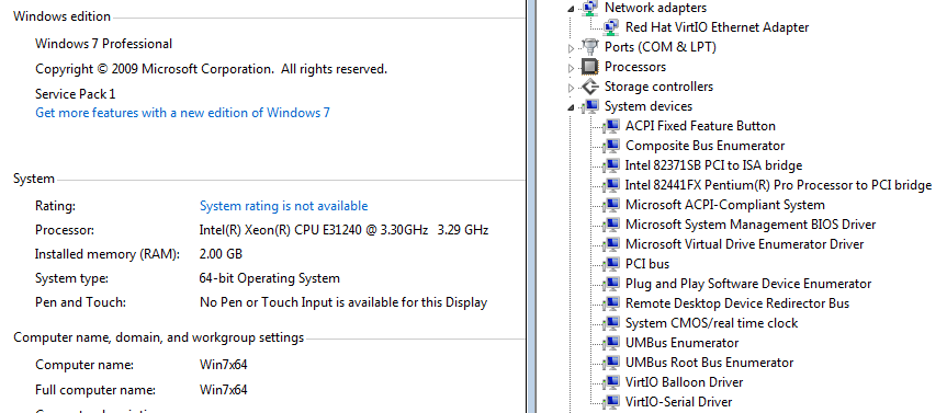 Windows 7 VirtIO Drivers will not install - VM Engine (KVM