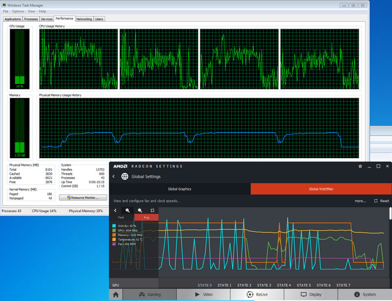 Having performance issues (bottleneck?) with VM GPU
