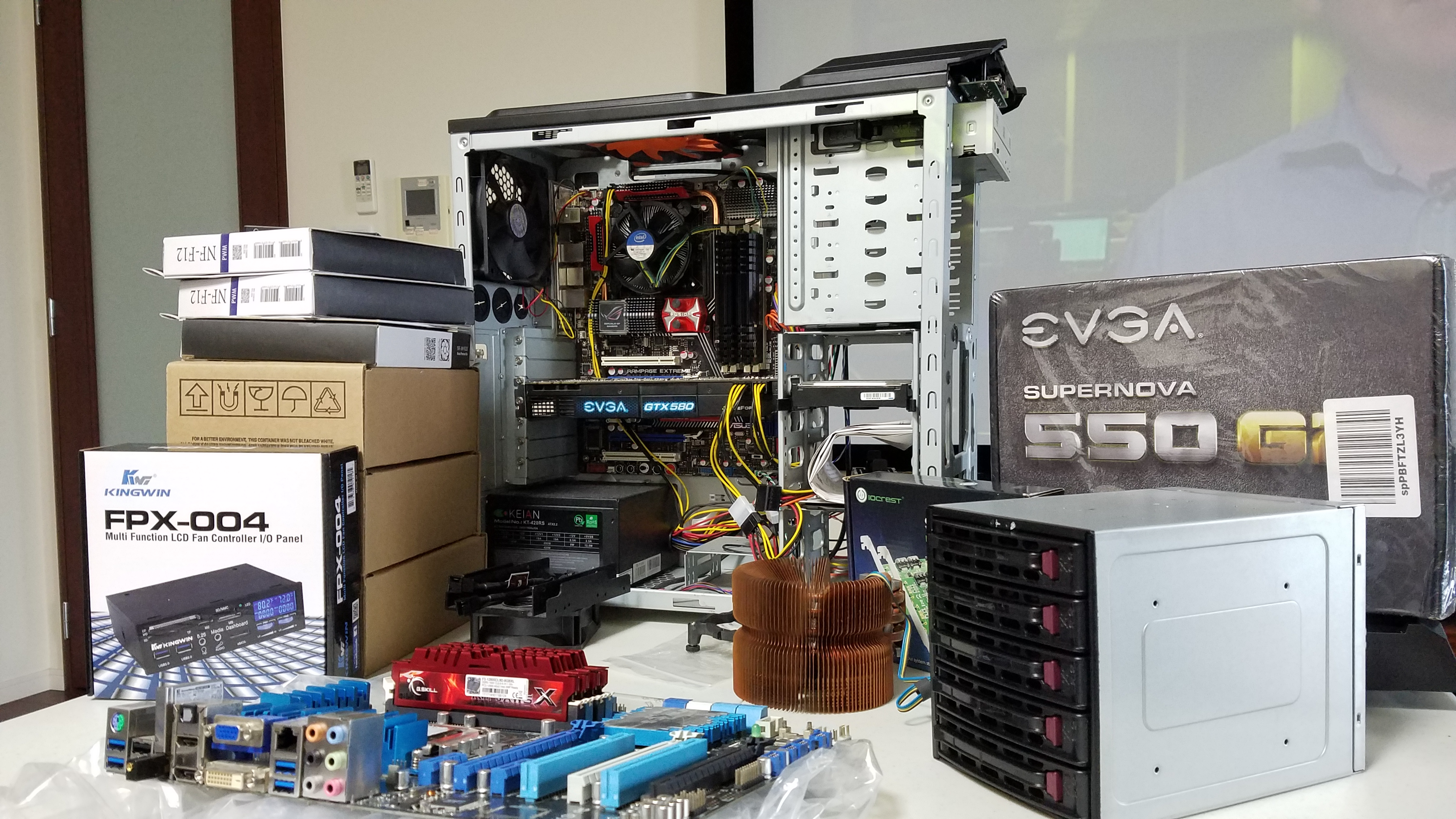 New Excited User - Feedback on unRAID build Please - Lounge