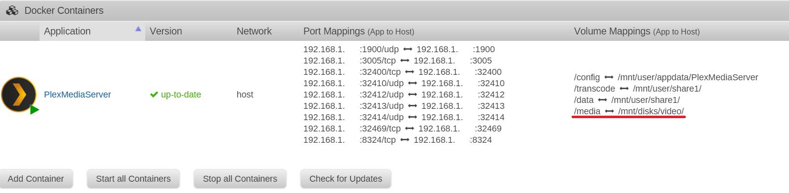 solved) Plex docker & NFS folder from Synology Nas - General