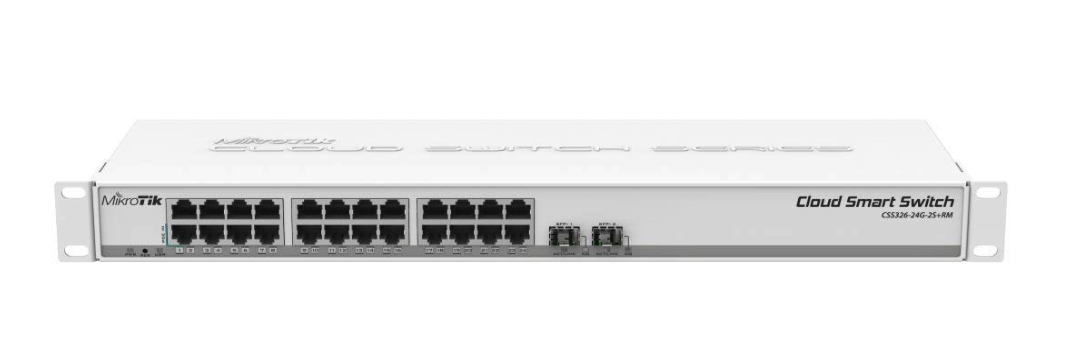 Review: MikroTik CSS326-24G-2S+RM 10gbe switch - Lounge - Unraid