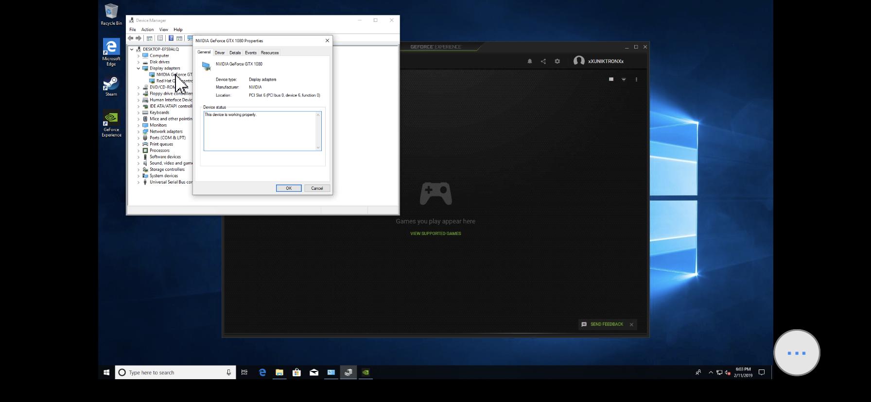 Solved] Error 43 NVIDIA Geforce 1080 Founders Edition  - VM Engine