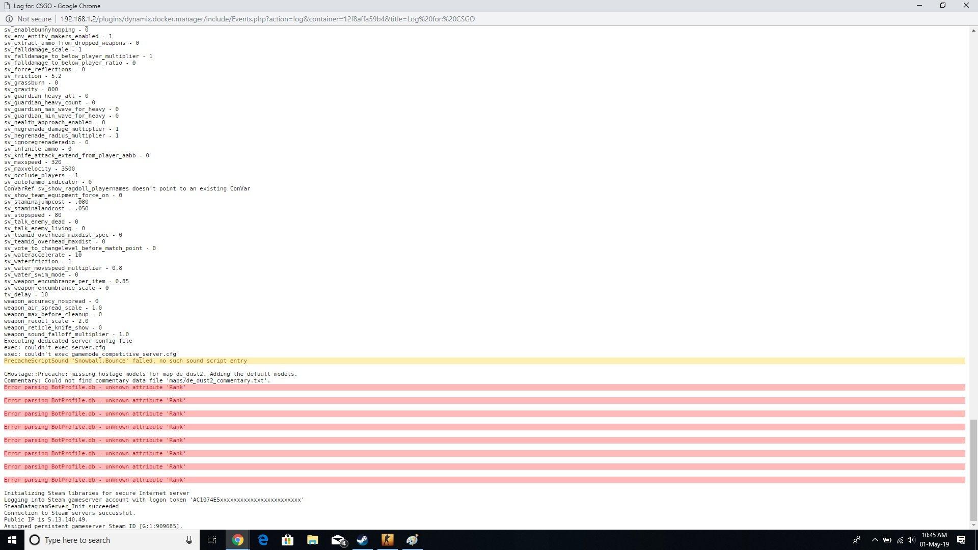 Support] ich777 - Gameserver Dockers - Page 2 - Docker